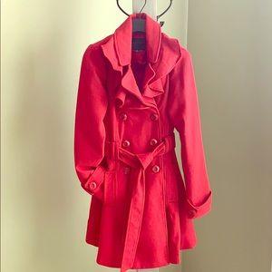 Dressy red coat
